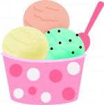 高脂肪のアイスクリーム
