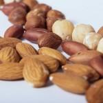 タンパク質を多く含むアーモンド