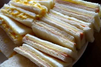 高カロリーの太るサンドイッチ