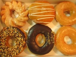 太る食べ物ドーナツ
