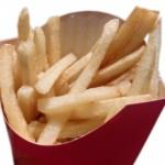 太る食べ物フライドポテト