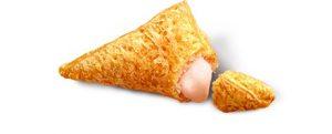マックの三角ももクリームパイ