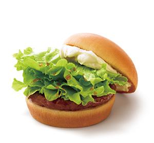 モスバーガーのクリームチーズテリヤキバーガー
