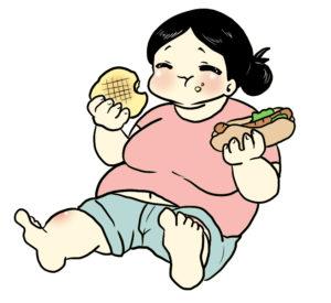 ダイエット中の女性の画像
